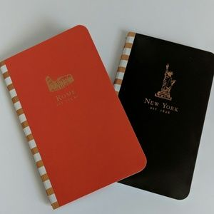 Set of 2 Travel Notebooks